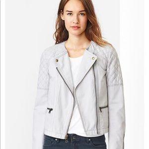 Gap moto jacket size 8